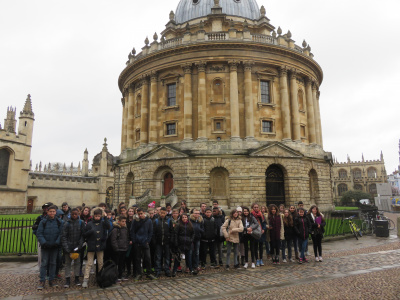 Oxford - Radcliff Camera -  voir en grand cette image