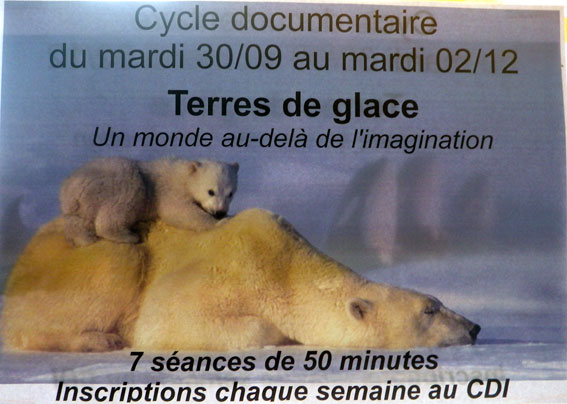 CDI cycle documentaire