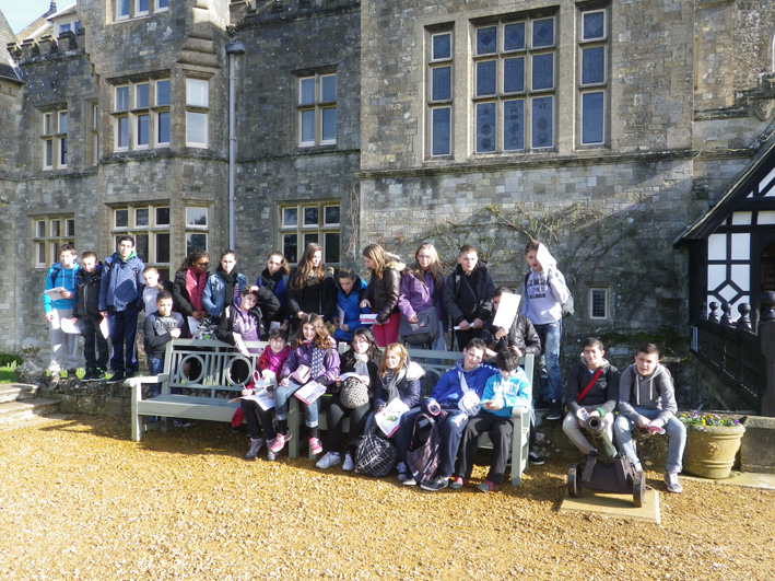Voyage scolaire GB 2013 - Beaulieu, Palace House