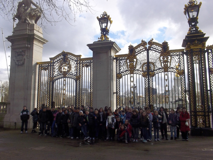 Voyage scolaire GB 2013 - London, Green Park
